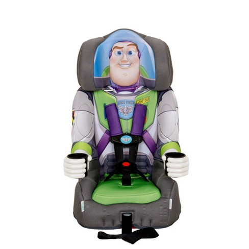 Kids Embrace Disney Buzz Lightyear 2 in 1 Child Toddler Booster Car Seat - image 1 of 4