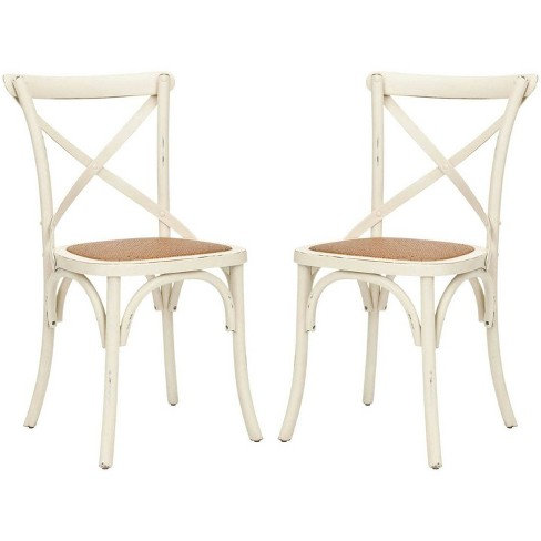 Franklin 18''H X Back Farmhouse Chair (Set Of 2) - Safavieh - image 1 of 4