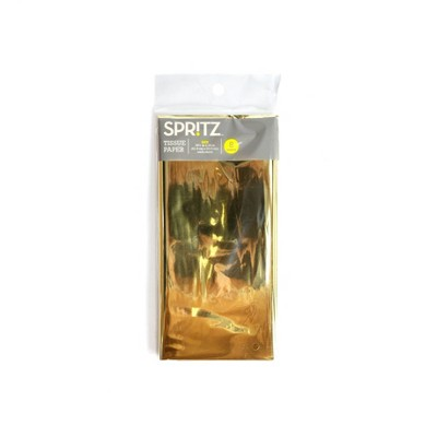 8ct Pegged Tissue Paper Gold - Spritz™
