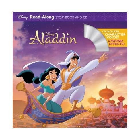 Disney Aladdin Pap Com Read Along Storybook And Cd Paperback