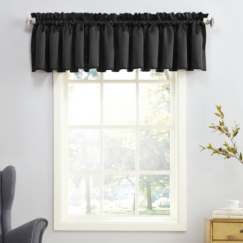 Sun Zero Seymour Energy Efficient Rod Pocket Curtain Valance - image 1 of 2
