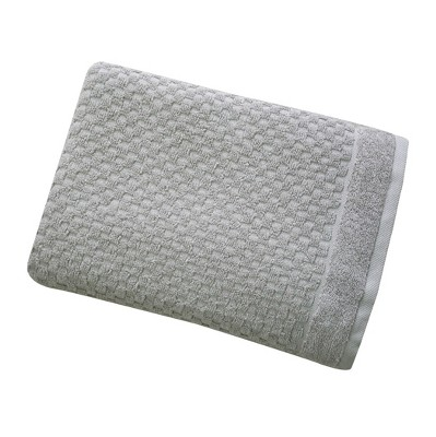 Ultra Soft Solid Accent Bath Towel Seagull Gray - Threshold™