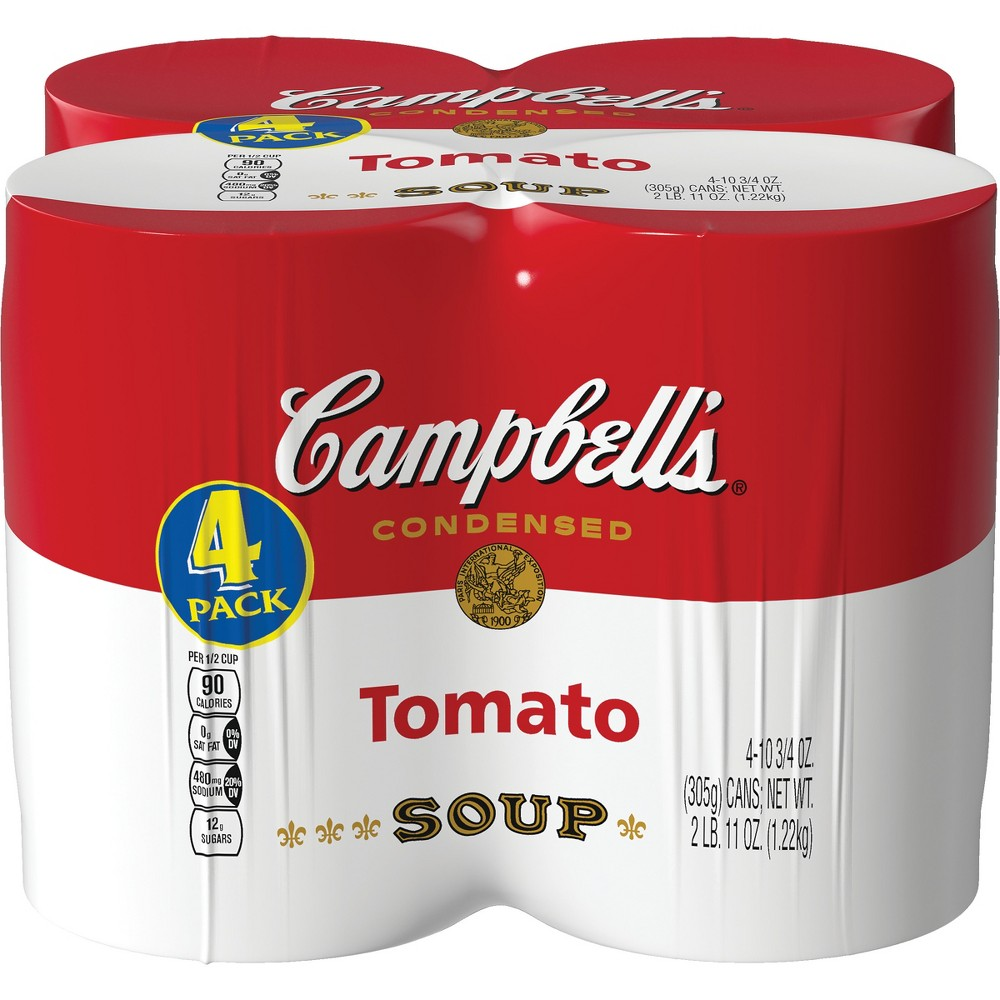 Campbell 39 S Condensed Tomato Soup 10 75oz Pack Of 4