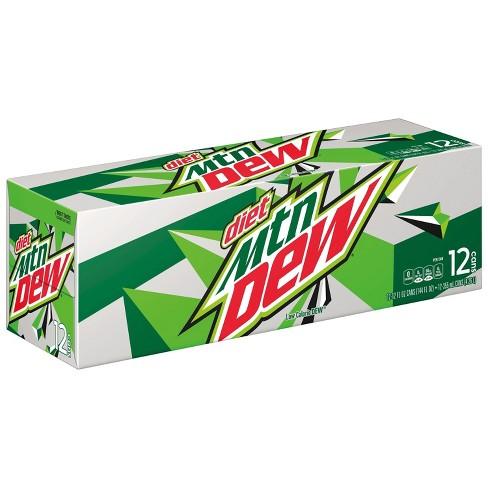 Diet Mountain Dew Citrus Soda - 12pk/12 fl oz Cans - image 1 of 3