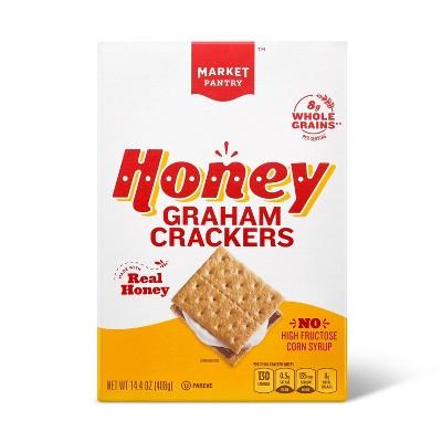 Honey Graham Crackers - 14.4oz - Market Pantry™