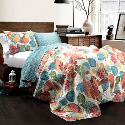Janelle 3 Piece Quilt Set - Lush Décor