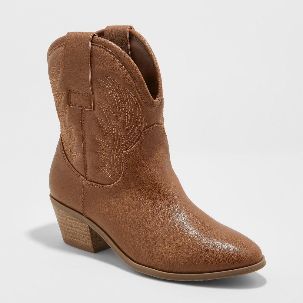Women's Dalia Western Boots - Universal Thread Brown 11