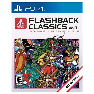 Atari Flashback Classics Vol 1 PlayStation 4