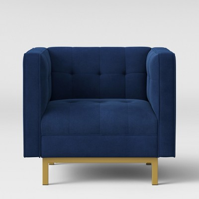 Cologne Tufted Track Arm Chair   Project 62™