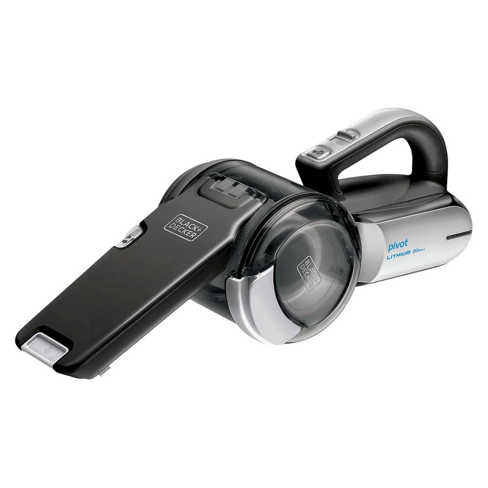 Black+decker 20V Max* Lithium Pivot Hand Vacuum - Black BDH2000PLA