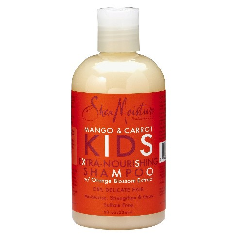 SheaMoisture Mango & Carrot Kids Extra-Nourishing Shampoo - 8 fl oz - image 1 of 1