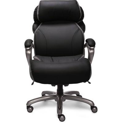 Big & Tall Smart Layers Premium Elite Executive Chair with Air-Bliss Black - Serta