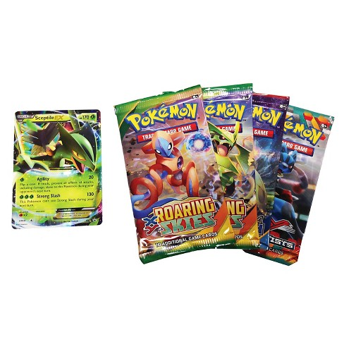 Pokemon Trading Card Game Hoenn Power Spring Tin featuring Sceptile - image 1 of 2