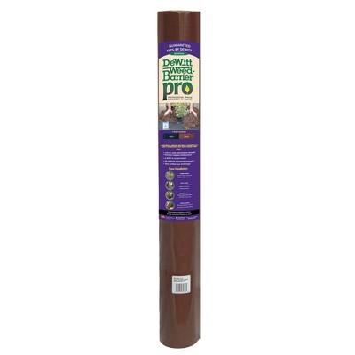 DeWitt Weed Barrier Pro Landscape Fabric in Brown (3 Ounces), 3' x 100' Refill