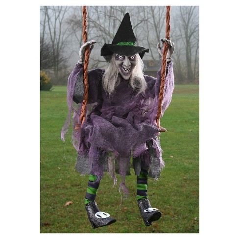 "36"" Halloween Swinging Witch - image 1 of 1"