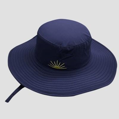 Baby Boys' Floppy Sun Hat - Cat & Jack™ Blue 12-24M