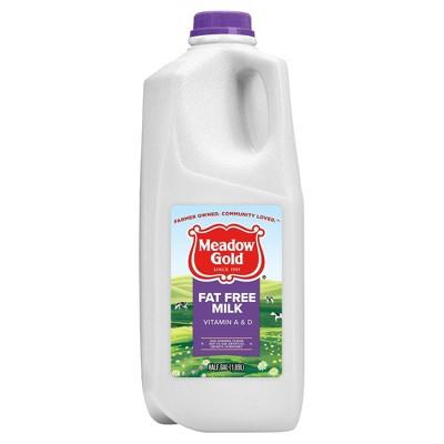 Meadow Gold Skim Milk - 0.5gal