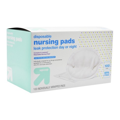 disposable breast pads 100ct up up target