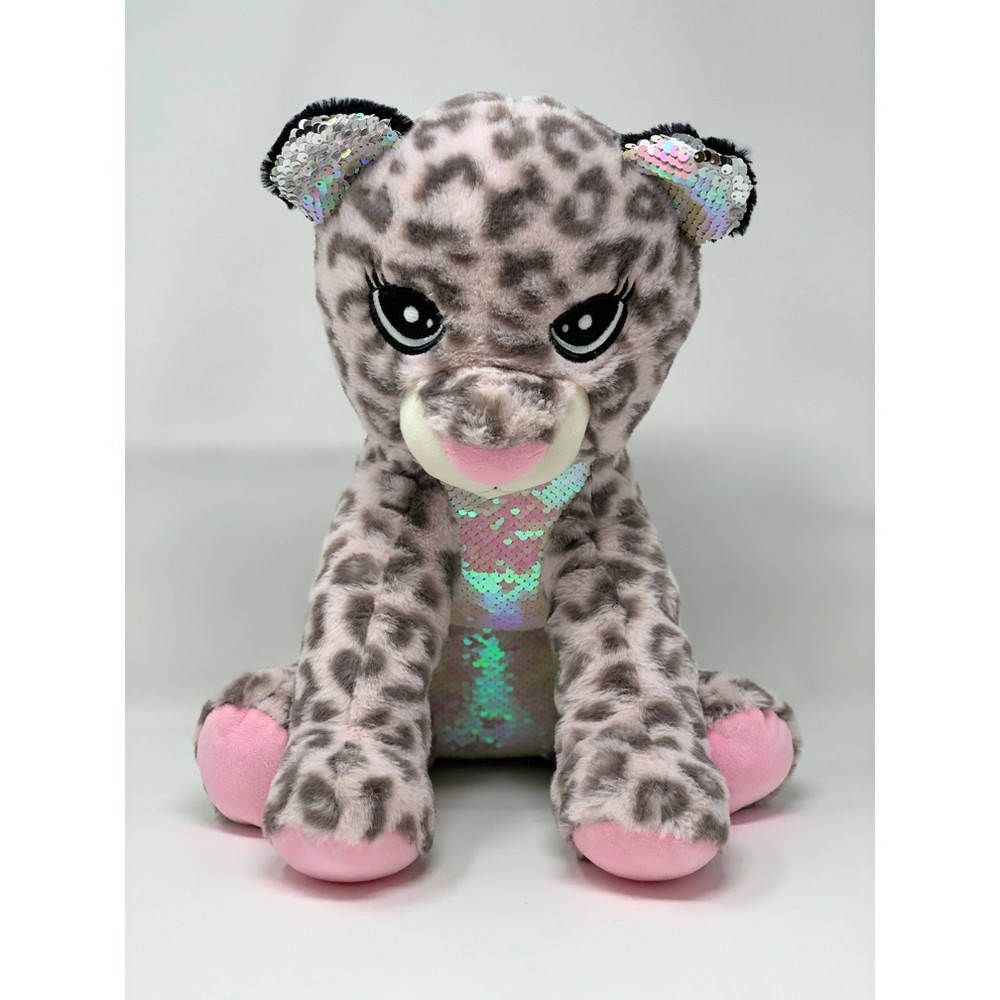 Image of Cheetah Figural Pillow - Love 2 Design