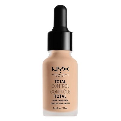 NYX Professional Makeup Total Control Drop Foundation Light Ivory - 0.43 fl oz