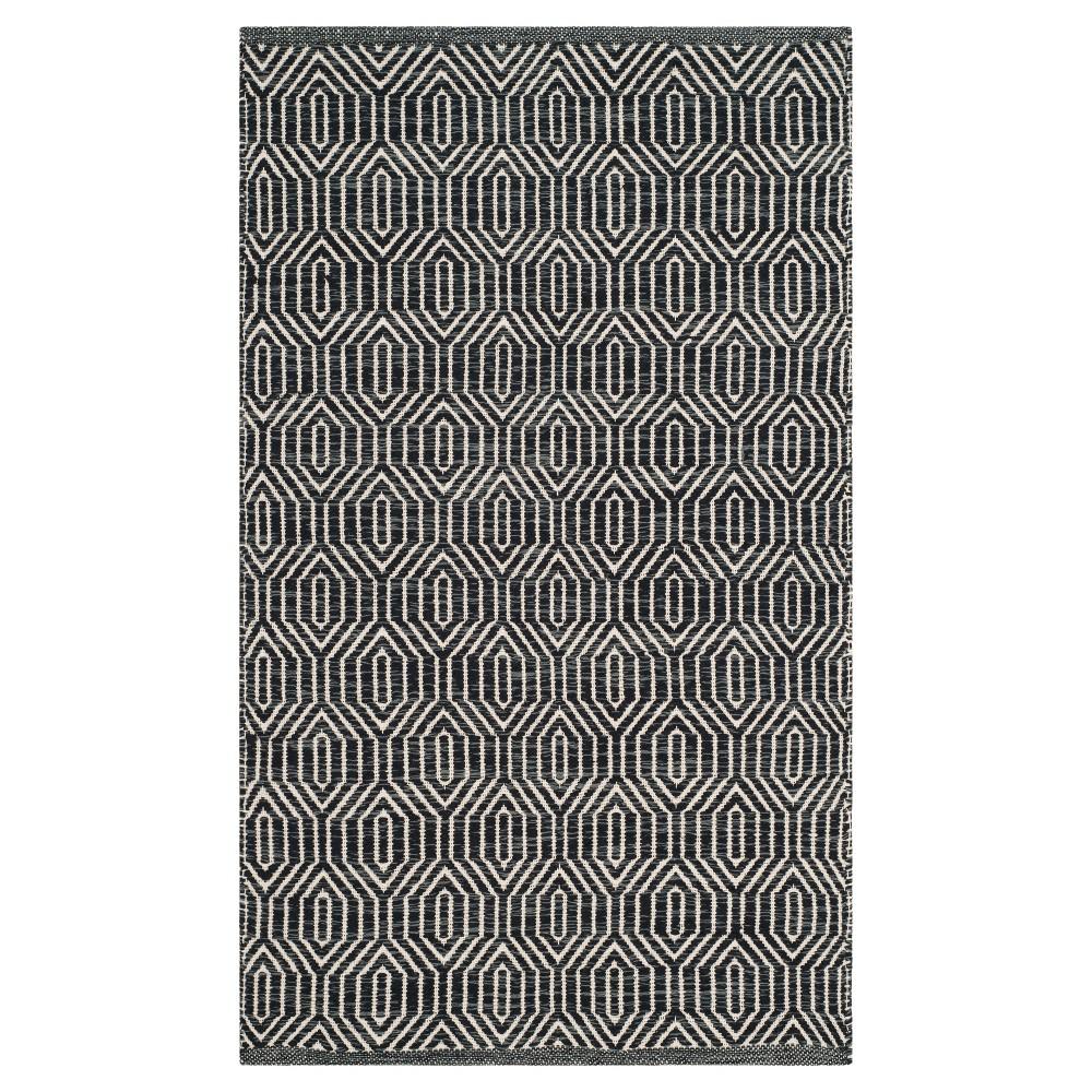 Montauk Rug - Ivory/Dark Gray - (2'3