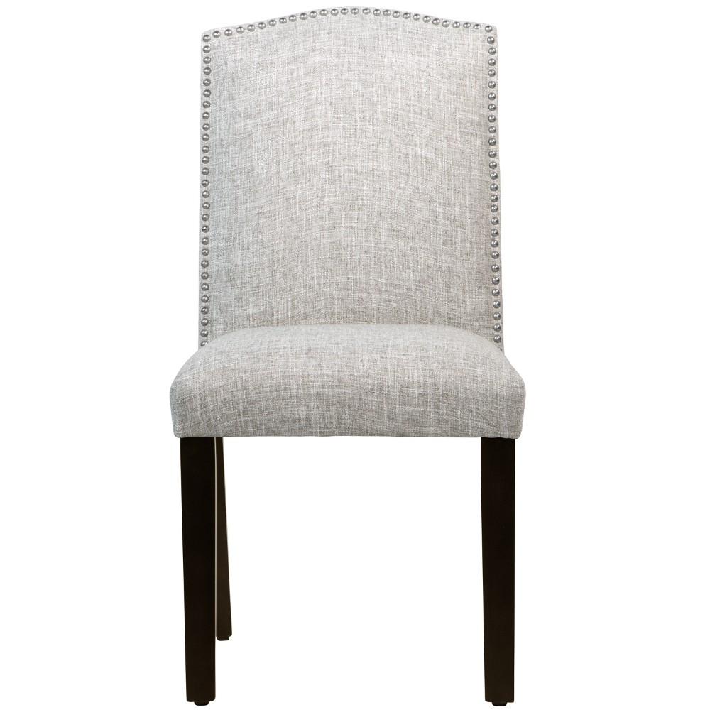 Nail Button Camel Back Dining Chair Zuma Pumice - Skyline Furniture