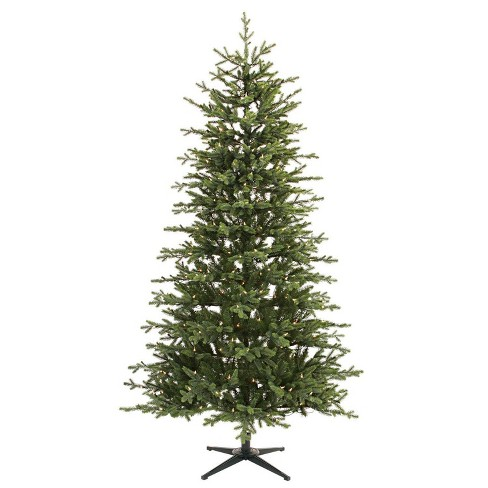 7 Ft Christmas Tree Prelit.7ft Pre Lit Artificial Christmas Tree Balsam Fir With Clear Lights Wondershop