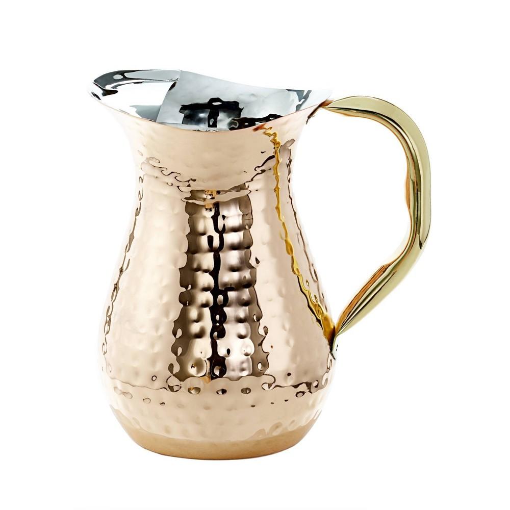 Image of Old Dutch 48oz Copper Hammered Beverage Pitcher
