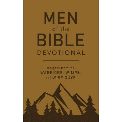 Men of the Bible Devotional - by  Compiled by Barbour Staff (Paperback)