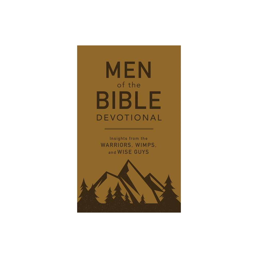 Men Of The Bible Devotional By Compiled By Barbour Staff Paperback