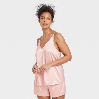 Women's Satin Sleep Camisole - Stars Above™ Soft Pink XL