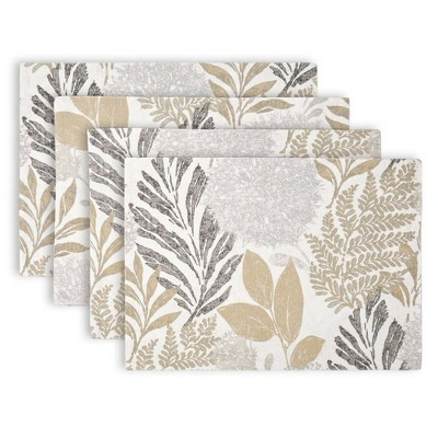 4pk Cotton Hastings Placemats - Town & Country Living