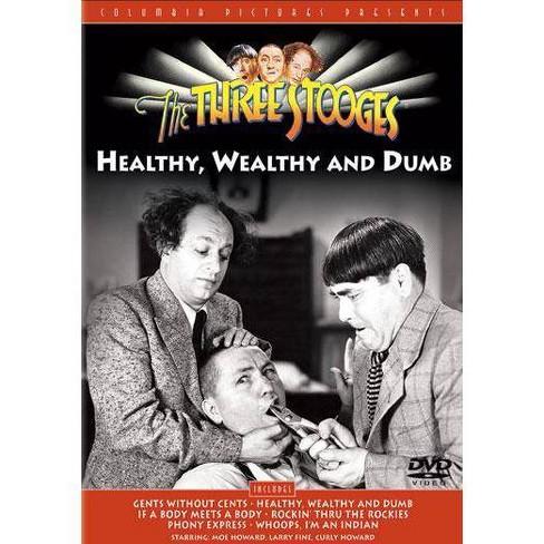 Three Stooges: Healthy, Wealthy & Dumb (DVD) - image 1 of 1