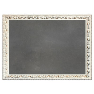 Wall Pops! ® Dry Erase Board Decal with Antique Frame - Charcoal Chalk Board