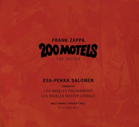 Los angeles philharm - Frank zappa:200 motels suites (Ost) (CD) - image 1 of 1