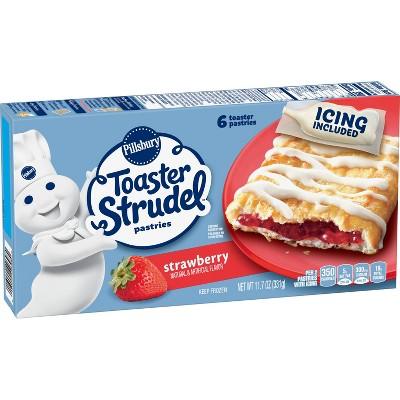 Pillsbury Strawberry Frozen Toaster Strudel - 6ct/11.5oz