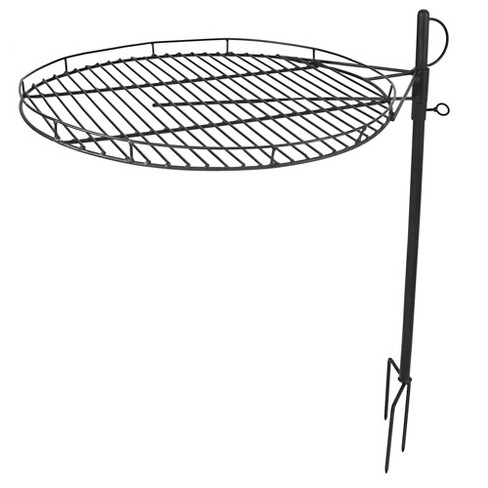 Adjustable Fire Pit Cooking Grate 24