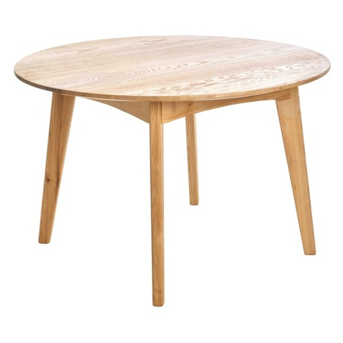"""Ezera 47"""" Round Dining Table - Natural - Christopher Knight Home - image 1 of 4"""