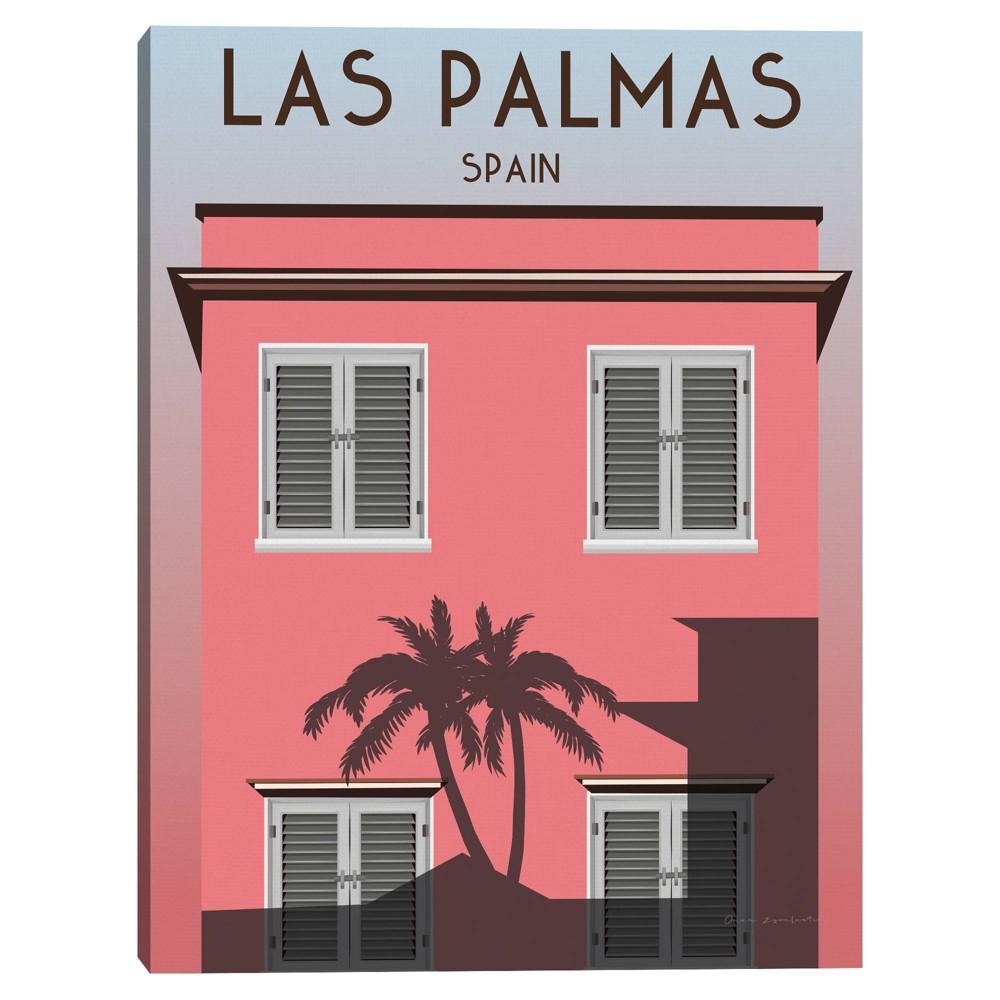 18 34 X 24 34 Las Palmas By Omar Escalante Canvas Art Print Masterpiece Art Gallery