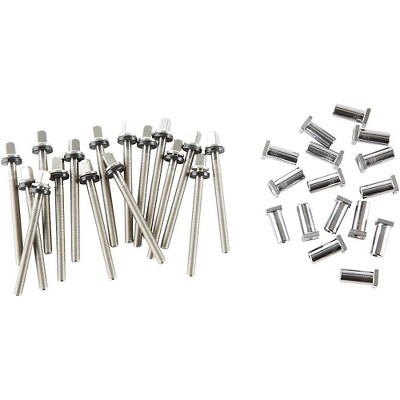 """DW True Pitch Tension Rods for 14-18"""" Toms (16-pack) 16 Pack"""