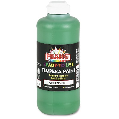 Prang Ready-to-Use Tempera Paint Green 16 oz 21604