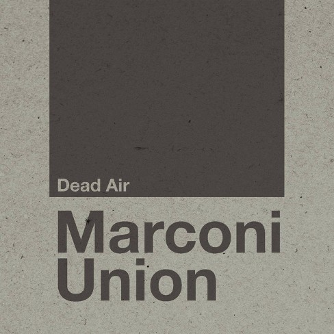 MARCONI UNION - Dead Air (CD) - image 1 of 1