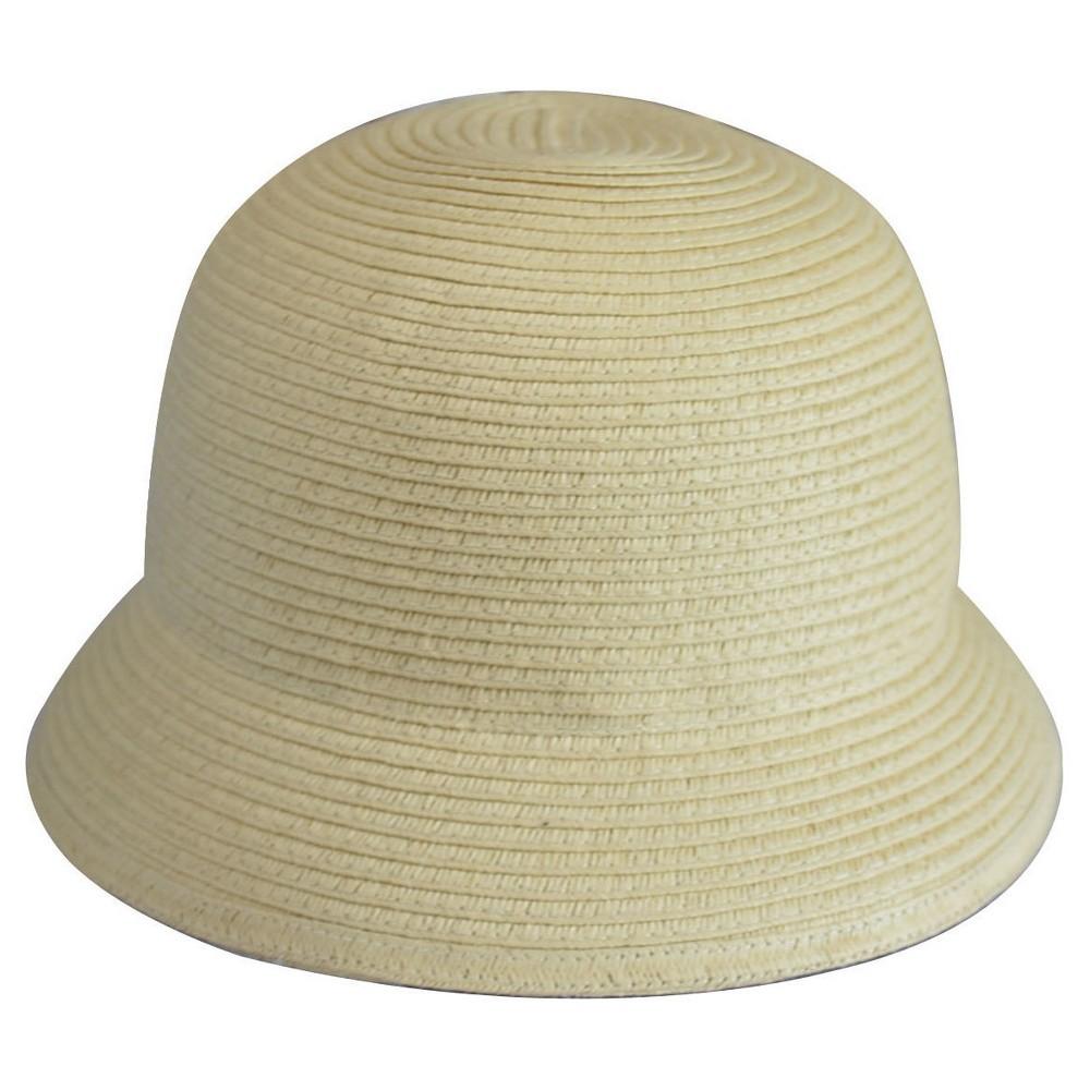 Baby Girls' Paper Braid Bucket Hat - 12-24M - Genuine Kids from OshKosh, White