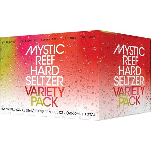 Mystic Reef Hard Seltzer Variety Pack - 12pk/12 fl oz Cans - image 1 of 4