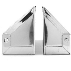 Rev A Shelf 19 Inch Stainless Steel Kitchen Sink Tip Out Tray Hinges & Base