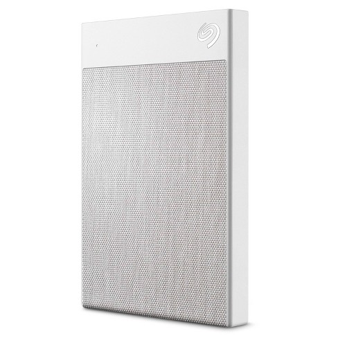 Seagate Backup Plus Ultra Touch 2TB USB-C and USB 3.0 External Hard Drive - White (STHH2000402) - image 1 of 4