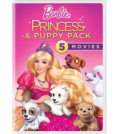 Barbie 5-Movie Puppy Pack (DVD) - image 1 of 1