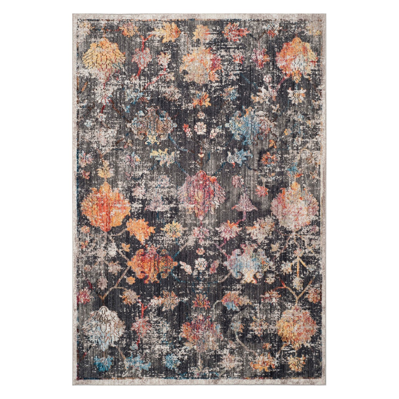 Annette Floral Loomed Accent Rug - Safavieh - image 1 of 4
