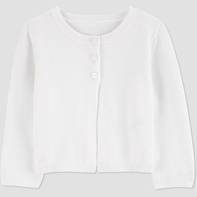 Baby Girls' Easter Dressy Cardigan - Just One You® made by carter's White