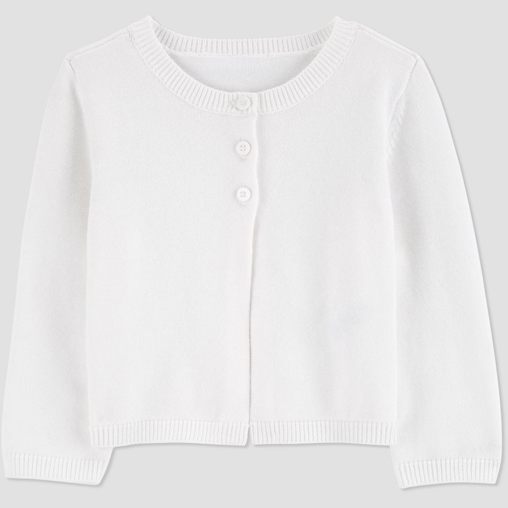 Baby Girls 39 Easter Dressy Cardigan Just One You 174 Made By Carter 39 S White 6m